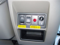Side door open lamp inside the cab and interior light switch